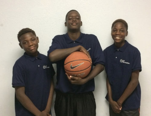 Kids at homeless shelter in South Jamaica attend NY Knicks summer basketball camp