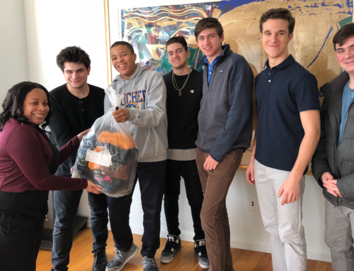 Grace Church School Seniors Hosted Winter Accessories Drive to Benefit Homes for the Homeless